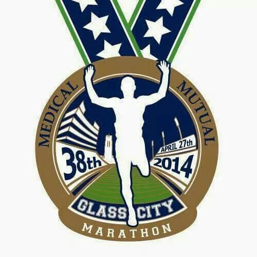 The 2014 Glass City Marathon #RunToledo