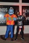 Josh Zeigler and Genie at the Disney World 10k