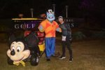 Josh Zeigler and Genie at the Disney World Half Marathon