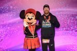 Josh Zeigler with Minnie Mouse at the Disney World 10k