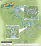 2018 Disney World Half Marathon Course Map